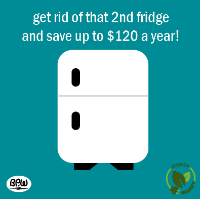 12 2nd fridge 2020 Efficiency Tips
