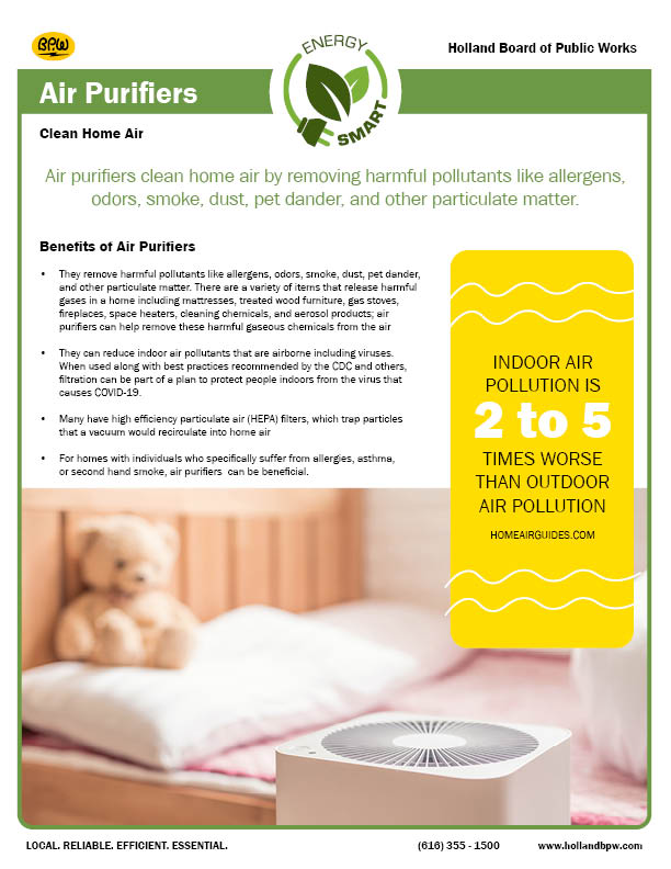 Air Purifier Fact Sheet