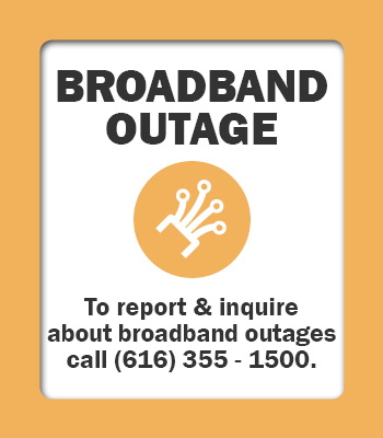 Outage Button Broadband