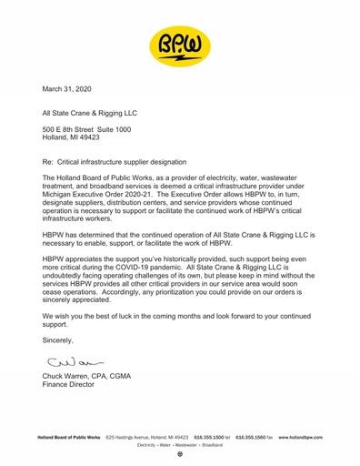 All State Crane & Rigging LLC