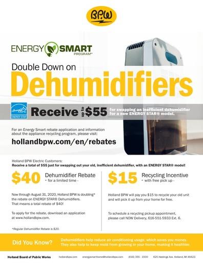 Dehumidifier Flyer 2020