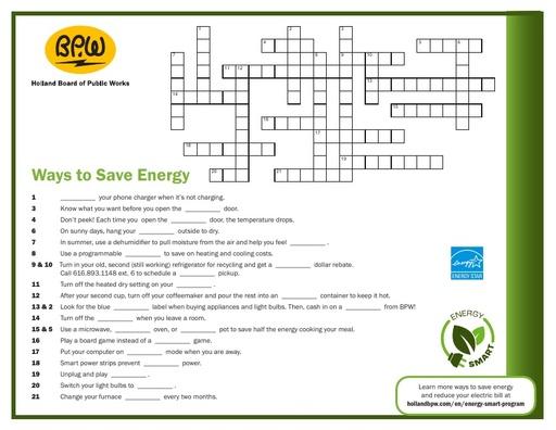Ways To Save Crossword Puzzle