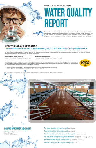 Water Quality Report 2020