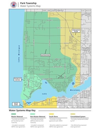 Park Township Water Systems Map BPW Proposal
